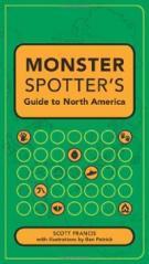 monster-spotters-guide-north-america-scott-francis-paperback-cover-art
